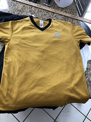 Kellogs Limited Edition Star Trek V Neck (S) T Shirt Super Rare Capt. Kirk