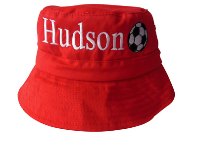 Personalised Bucket Hat - Embroidered With Name & Picture