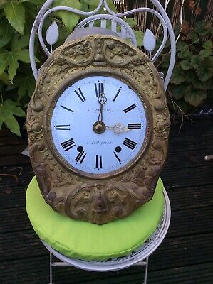 Clock Face And Movement For Spares Or Repair