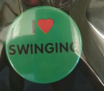 I love swimming Custom Badges 59mm Your Designs pic Stag hen birthday parties.