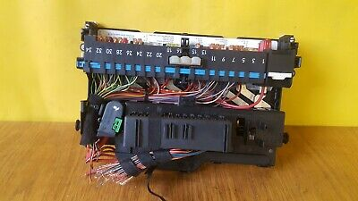 2003 BMW 3 SERIES E46 318i INTERIOR POWER DISTRIBUTION FUSE BOX 8364542