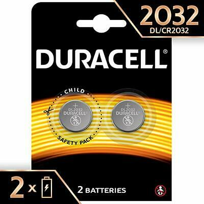 Duracell Pk Of 2 Speciality Cr2032,  3V Lithium Coin Size Battery 100% Original