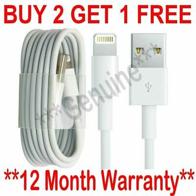 USB Lightning Charger & Data Sync Cable Lead For  iPhone 5 5s 5c 6 7 8 X XR