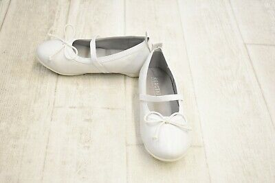 **Kenneth Cole Reaction Kids Copy Tap 2 Flats - Toddler Girl's Size 9, White