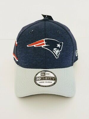 New! New England Patriots NFL New Era 39Thirty Do Your Job Fitted Hat Cap L / XL