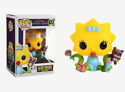 Funko Pop Television 823 The Simpsons Treehouse of Horror 39727 Alien Maggie