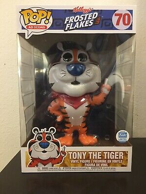 WORLDWIDE SHIPPING! Funko Pop! Ad Icons Tony the Tiger 10'' Funko Shop Exclusive