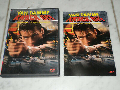 Knock Off (DVD, 1998, Closed Caption) Van Damme RARE OOP