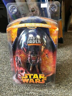 Hasbro Star Wars Revenge of the Sith Target Exclusive Lava Darth Vader 1 0f...