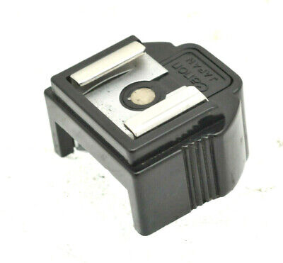 Canon F-1 Camera Type D Accessory Flash Coupler Adapter Shoe