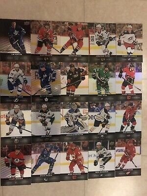Tim Hortons 2019-20 Upper Deck Individual Base Set Hockey Cards