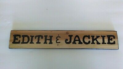 """Personalized wood signs cedar """"YOUR TEXT"""""""
