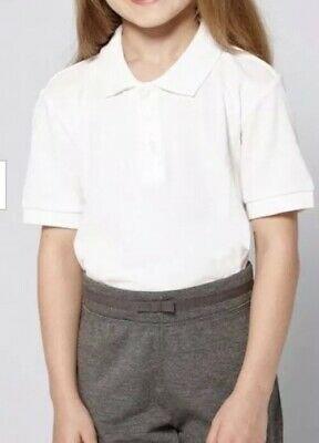 EX COND GEORGE BOYS 4-5 YEARS WHITE LONG SLEEVED SCHOOL UNIFORM SHIRT