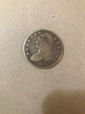 1836 Silver Capped Bust Half Dollar