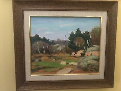 Untitled - Original Oil Painting by Canadian Artist George Thomson b 1868