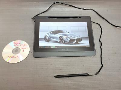 Wacom DTU-1141 LCD Signature Capture Pad Tablet w/ Stylus Cable Drivers & Manual