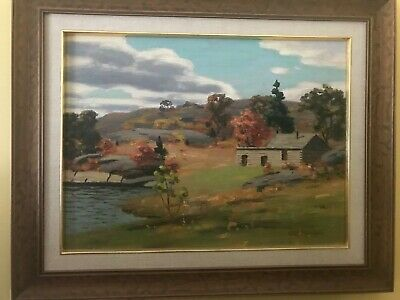 A Fisherman's Cabin - Original Oil Painting by Canadian Artist George Thomson