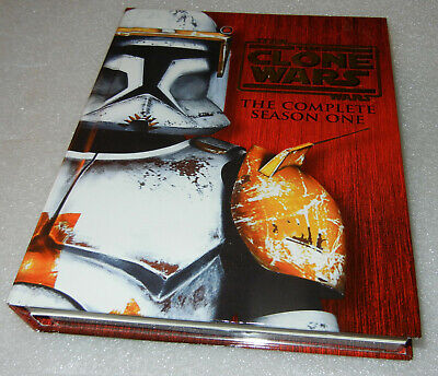 Star Wars: The Clone Wars: Season 1 Collector's Edition - DVD Mint Condition