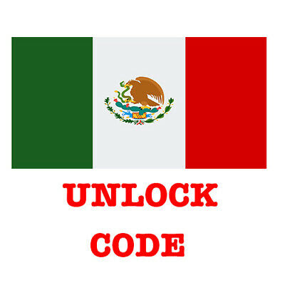 Unlock Code AT&T Mexico Nextel Iusacell Unefon Huawei Samsung LG Alcatel ZTE All