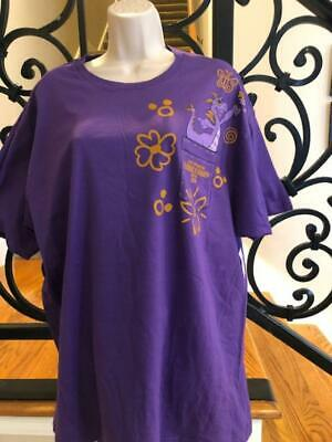 Disney Epcot Flower & Garden 2019 Figment Passholder T-Shirt  Medium or Large