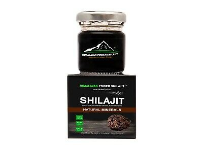 Himalayan Power Shilajit 100% Pure Organic Shilajit in Fresh Resin Form Shilajit