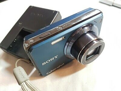 Sony Cyber-shot DSC-W290 12.1 MP Digital Camera - Blue