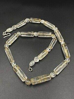 A antiques  crystal necklace made from a collection of beautiful