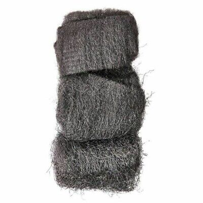 48x WIRE WOOL PADS Steel Kitchen Cleaner Cast Iron Grill Grease Rust Removal