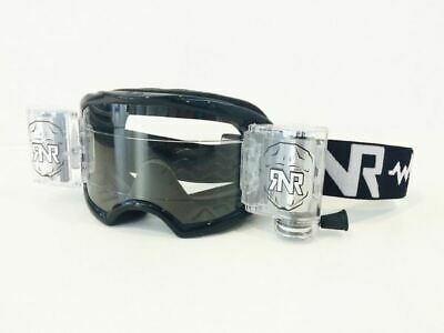 Rip N Roll Goggle Lens Drilled CLEAR Colossus WVS 48mm With Raised Strip