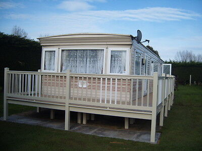 southview caravan 8 berth for hire skegness