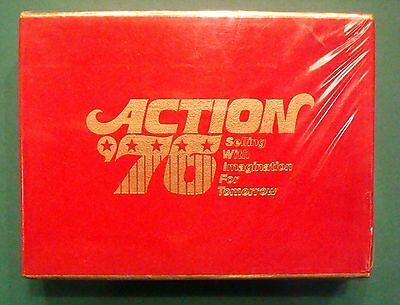 1976 Action Spirit 76 Playing Cards American Revolution Bicentennial Mint Sealed