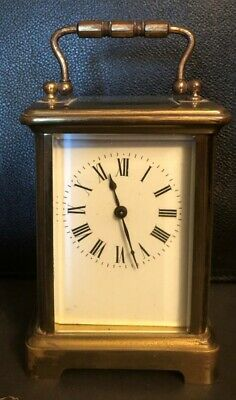 Antique French Carriage Clock Circa 1870's - 1880's