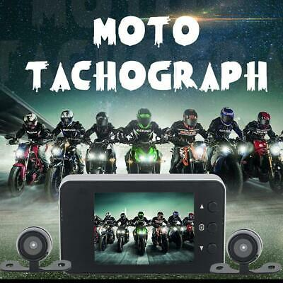 """720P Motorcycle Bike Car 3"""" LCD Action Dual Camera Dash Cam Video Camcorder New"""