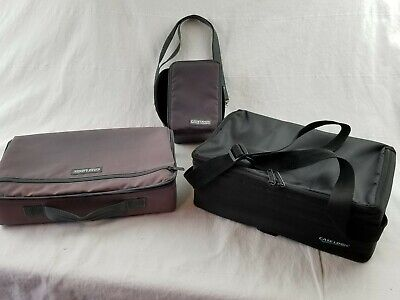 Lot of 3 Case Logic Cassette Tape Storage Holders Portable Carrying Cases