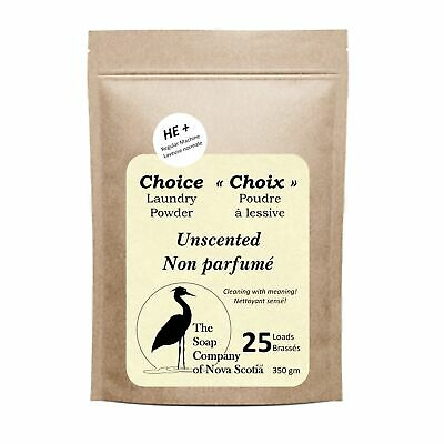 Unscented Choice Laundry Powder 25-75 loads