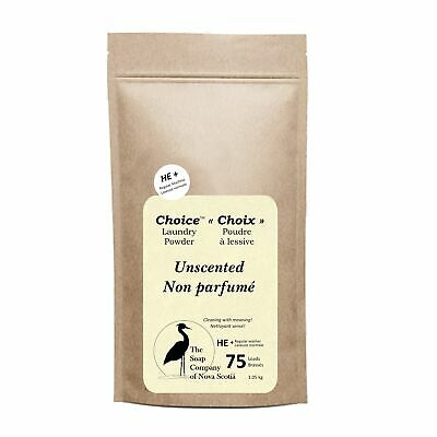 Unscented Choice Laundry Powder 75-225 loads
