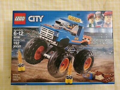 LEGO City Great Vehicles Monster Truck 60180 192 Pcs New Sealed Box