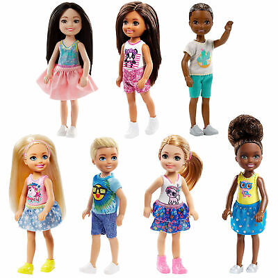 Barbie Club Chelsea Dolls by Mattel Choose Your Favourite style