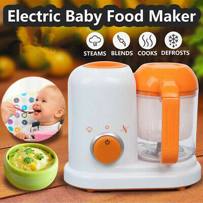 Multifunction Electric Baby Food Processor Blender Bowl Blend Storage Container