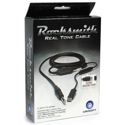Official Rocksmith Real Tone Cable Guitar/Bass (PS4/Xbox One/PC) NEW & GENUINE