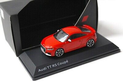 1:43 iScale Audi TT RS Coupe Catalunya red DEALER NEW bei PREMIUM-MODELCARS