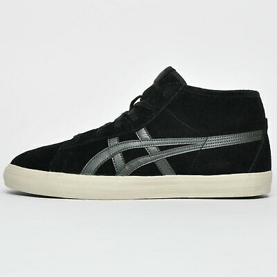 Onitsuka Tiger Fader Mid Men's Vintage Fashion Suede Retro Trainers Black