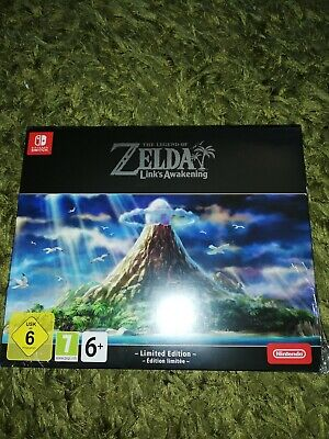 The Legend of Zelda: Link's Awakening Limited Edition for Nintendo Switch NEW