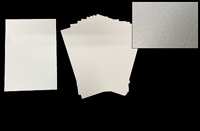 Card Ivory (Cream) Hammered Effect A4 - Textured - pack of 10 sheets - 250GSM