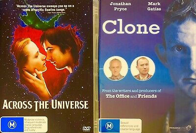 Aa3 Brand New Sealed-Across The Universe R4 Dvd See Photo 2️⃣➕Clone Dvd