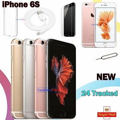 Apple iPhone 6s 16GB 32GB 64GB Smartphone New Sim Free Factory Unlocked + Gift