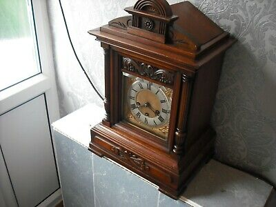 Antique Junghans Bracket Clock