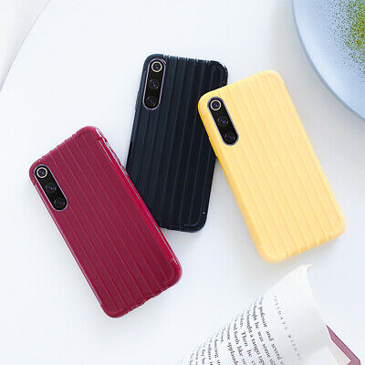 Cute Suitcase Soft Rubber Case Cover For Xiaomi Mi 8 A2 Lite 9T Redmi K20 Pro 6A