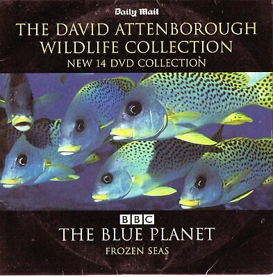 THE BLUE PLANET - FROZEN SEAS   Narrated by David Attenborough  :  PROMO DVD
