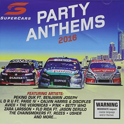 V8 Supercars: Party Anthems...-V8 Supercars: Party Anthems 2016 / Various Cd Neu